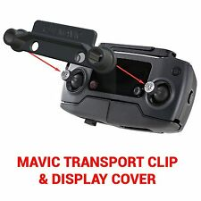 DJI MAVIC PRO - Screen Cover & Transport Clip Controller BLACK USA seller