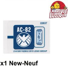 Lego - 1x Sticker Autocollant Super Heroes 76036 Carnage's SHIELD Sky Attack NEW