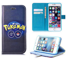 for iPhone 6 6s Very Pokemon Go Pokeball Wallet Stand Flip Case Cover