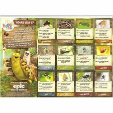 McDonalds Epic happy meal insects / nature pop out card game toy uk