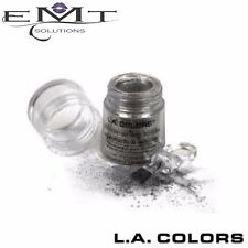L.A Colors Shimmering Loose Eyeshadow - Black Pearl - Long Lasting (LA Colours)