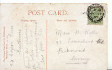 Genealogy Postcard - Wells - Townshend Road - Richmond - Surrey - Ref 3743A