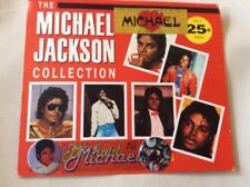 Vtg Vending Display Card Michael Jackson Stickers King of Pop Thriller 1980s