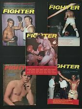 LOT OF 5 AUSTRALIAN FIGHTER BOXING MAGAZINES 1973 FEB, MAY, JUNE, SEPT & OCT
