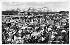 BR17255 St Gallen mit Santis  switzerland