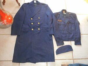 capote , veste et calot armée de l'air