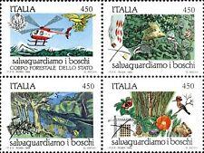 1984 ITALIA SALVAGUARDIA DELLA NATURA 4 VALORI IN BLOCCO  NUOVO ** MNH (C1673