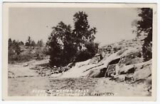 Nester Falls/Lake of the Woods - Baudette, MN Minnesota RPPC Real Photo Postcard