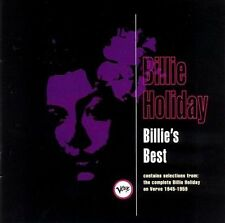 Billie's Best by Billie Holiday CD Complete, Verve Label!