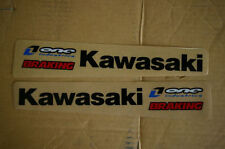 ONE IN. SWING ARM  GRAPHICS KAWASAKI KX85  KXF250 KXF450 KDX KLX KX125 KX250 KX
