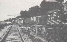 Train Wrecks in TEXAS 1911-2004