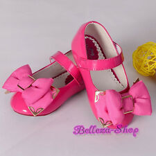 Bow  Shoes Toddler US Size 6.5-13 Wedding Flower Girl Birthday GS013