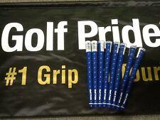 8 Brand New Golf Pride Tour Wrap 2G Blue Standard Size $47.92 Shipped!!!!