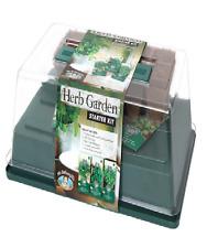 Mr Fothergills HERB GARDEN STARTER KIT Greenhouse for Seed, Better Growing Resul