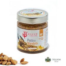 Pesto di Mandorla 65% Bacco da 190 gr - condimento per primi e secondi piatti
