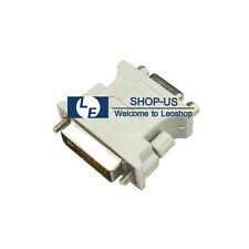 New DVI-I male Analog (24+5) to VGA Female (15-pin) Connector Dual Link Adapter