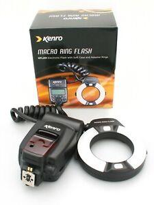 Kenro Macro Ring Flash KFL201 for Nikon DSLR Cameras. Fully Working
