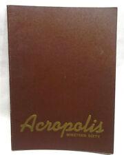 1960 Acropolis Hershel Industrial School of Hershey  Pa. High School  Year Book