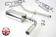MAZDA MX5 MK2 1.6, 1.8, CYBOX STAINLESS STEEL EXHAUST SYSTEM