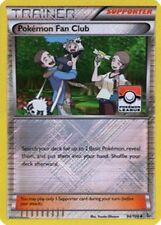 2x Pokemon Fan Club Pokemon League Reverse Holo Promos NM-Mint