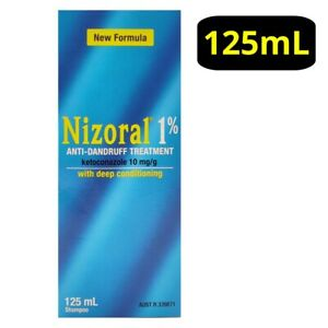 Nizorall 1% Anti-Dandruff Treatment 125mL Shampoo with Deep Conditioning