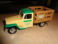 CO-OP 1953 JEEP WILLYS STAKE BED DIECAST TOY TRUCK