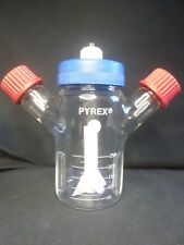 Corning Pyrex Glass 250mL ProCulture Baffled Magnetic Spinner Flask GL-32 70mm