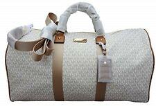 Michael Kors Michael Kors Leather Travel Logo Duffle Large Bag Printed Duffel