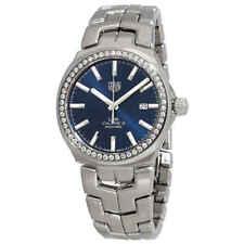 Tag Heuer Link Calibre 5 Automático Diamante Reloj para hombres WBC2113.BA0603