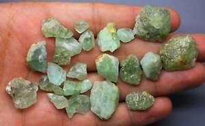 1 Hand Selected Hiddenite Green Herderite Gemstone Specimen for Collection, Wir