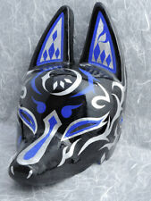 Japanese Fox Half Mask Motif Moon Made in Japan New