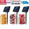 100 LED Solar Power Fairy Lights String Lamps Party Wedding Decor Garden Outdoor