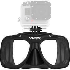 OctoMask Mask fits GoPro Cameras, Scuba, Diving, Dive, Snorkeling, BK FM88-BK