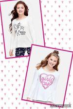 NWT 2- Justice 14/16 plus Long Sleeve Swingy Tee shirt unicorn magical girls