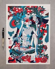 James Jean Pomegranate Signed AP #/20 Art Japanese Woodblock Print