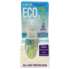 ECO2 100% Pure Crystal REFILLABLE Deodorant Spray | 10 BOTTLES IN ONE!