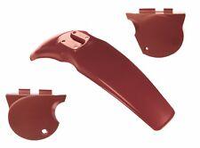 Front Fender Mud Guard Side Cover Set For Yamaha XT500 Ginger Brown XT 500 4-044