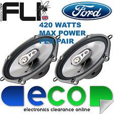"""Mazda MX5 Xedos 94-98 FLI 6""""x8"""" 420 Watts 3 Way Replacement Door Speakers"""