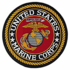 Motorcycle Biker Jacket/Vest Patch (Back Patch) - USMC United States Marine Corp