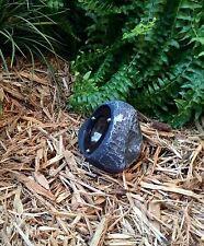 4 - LED Outdoor low voltage landscape lighting rock spot light NEBULA Gray slate