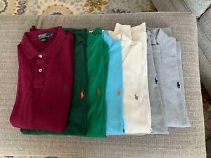 Polo Ralph Lauren Soft Cotton & Knit Polo Short & Long Shirt XL Multiple Colors