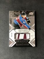 2019-20 UPPER DECK EXQUISITE CALE MAKAR ROOKIE PATCH SILVER #ed 98/99