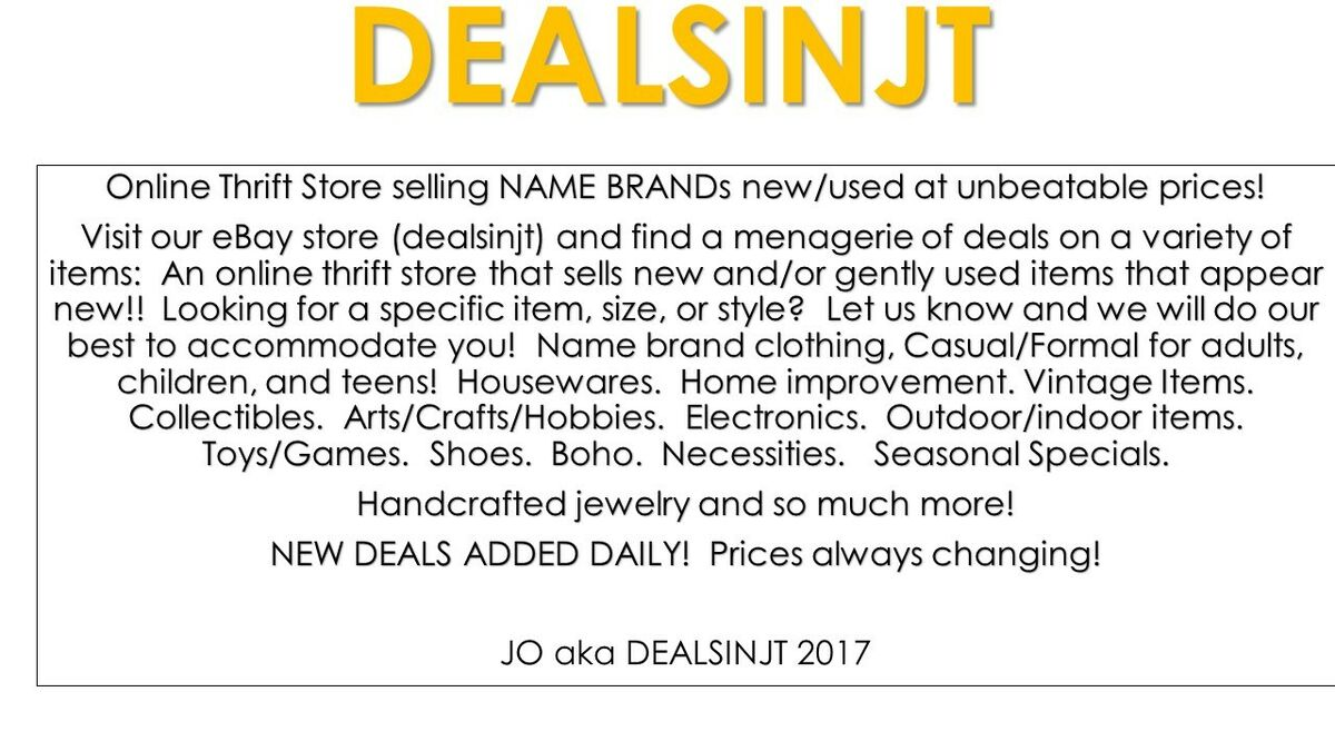 DEALSINJT - DEALSINJT.COM