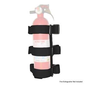 RUGGED RIDGE Sport Bar Fire Extinguis her Holder Black 55-18 P/N -13305.21