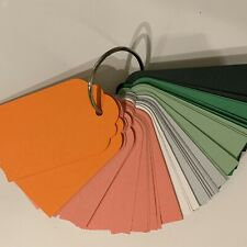 60 Craft Tags With Binding Ring/Mixed Set 38 Watermelon