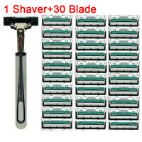 1 Razor Holder 30 Men Razor Blades Shaving Facial Care Men Shaving Blades ShavQA