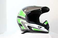 Vintage Thor Motocross ATV Helmet SVS M95 X-Small Green Black White Silver