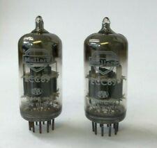 ECC89 6FC7 Mullard 2 pieces NOS audio dual triode tube valves