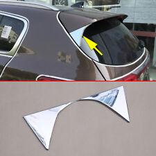 Rear Spoiler Triangle Cover For Kia Sportage 2016-2018 Accessories Windshield