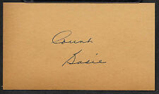 Count Basie Autograph Reprint On Genuine Original Period 1940s 3x5 Card